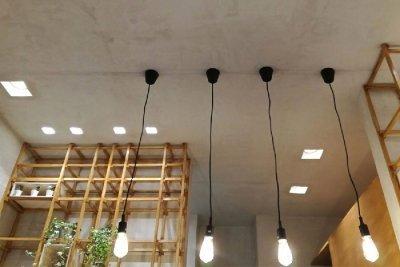 illuminazione led negozi - bar
