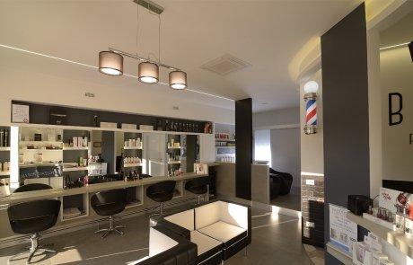 illuminazione led negozi - centro estetico