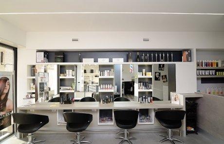 illuminazione led negozi - parrucchiere 3