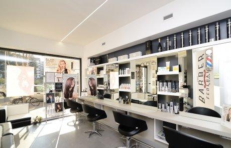 illuminazione led negozi - parrucchiere 4