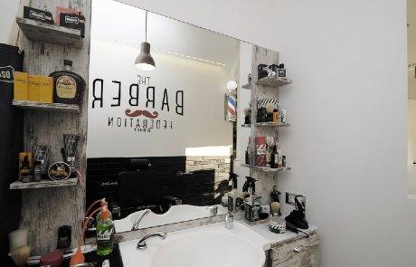 illuminazione led negozi - parrucchiere