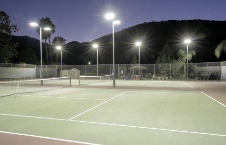 illuminazione a led impianti sportivi