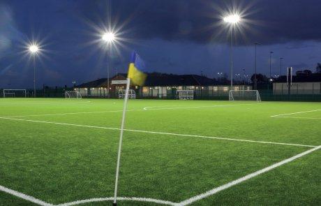 illuminazione led campi da calcio