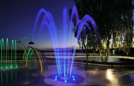 illuminazione led per esterni - piscina