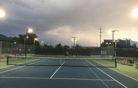 illuminazione led per impianti sportivi